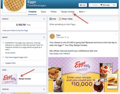 cum sa dezvolti concursuri pe facebook