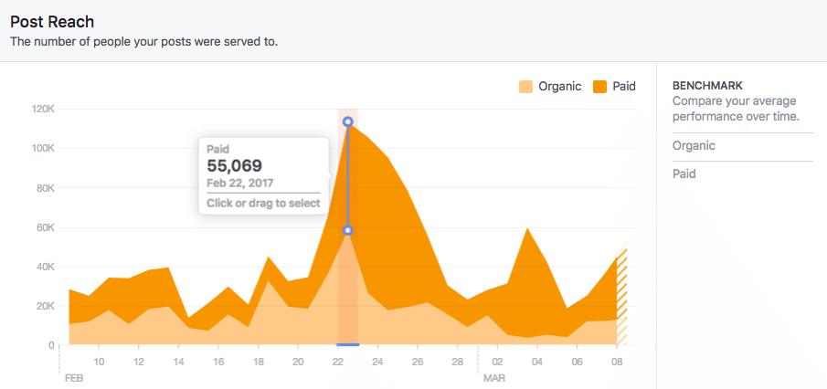 reach facebook insights