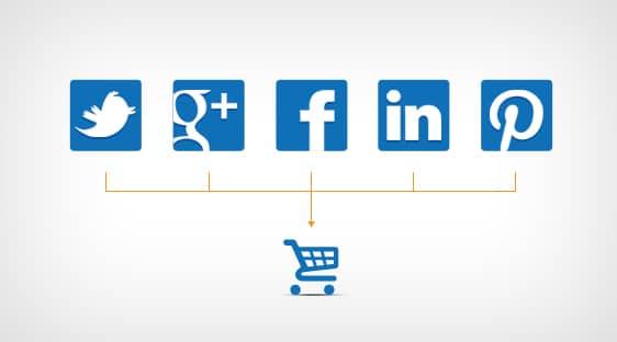 social media pentru ecommerce